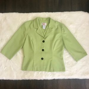 Lime Green Vintage Blazer